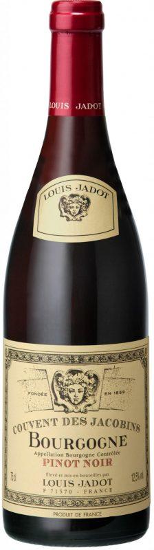 louis Jadot bourgogne couvent des jacobins pinot noir - Rött vin från Bourgogne wine affair