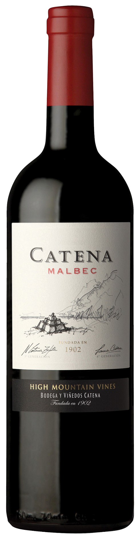 catena malbec flaska