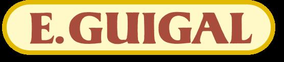 logotyp för e. guigal