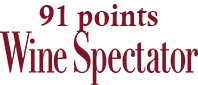 Wine Spectator 91 points - wineaffair