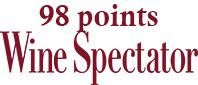 Wine Spectator 98points - wineaffair
