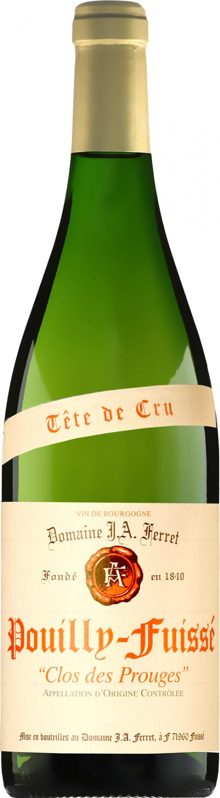 Pouilly Fuissé Tête de Cru Clos des Prouges_wineaffair