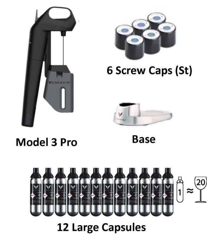 Coravin Model 3 PRO Reserve Kit